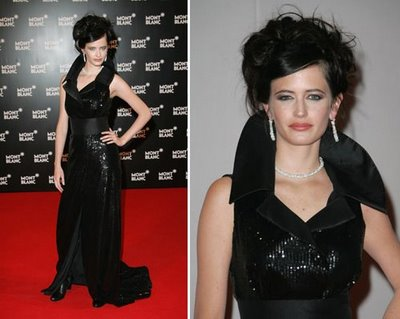 Eva Green dress