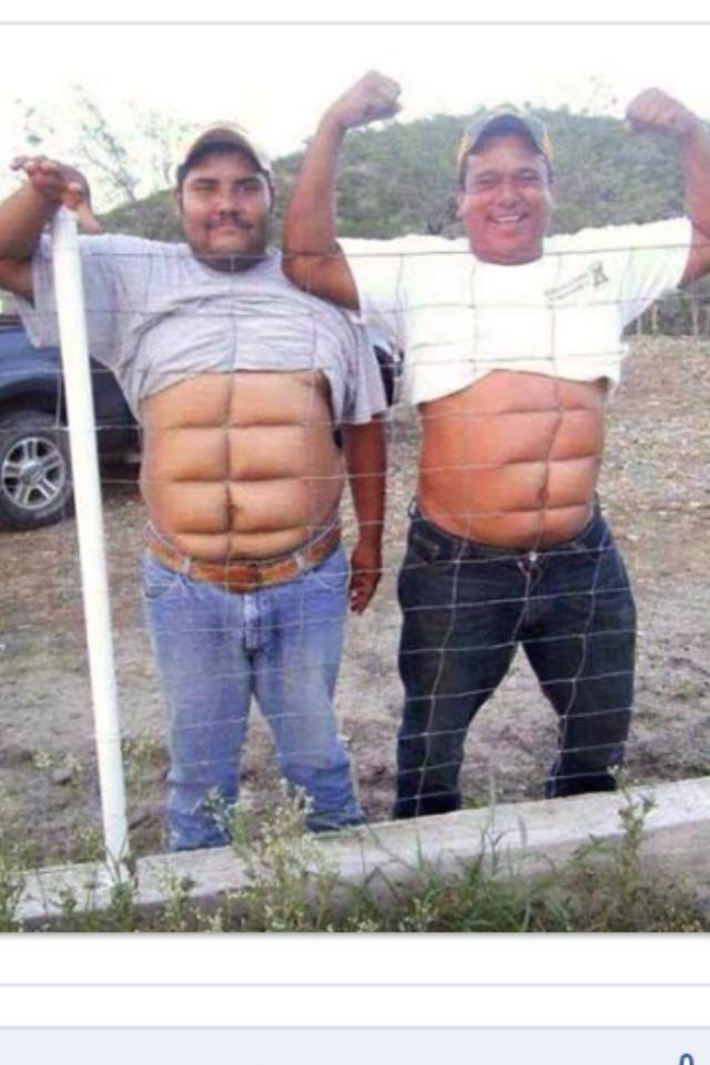 How to have six pack abs instantly?