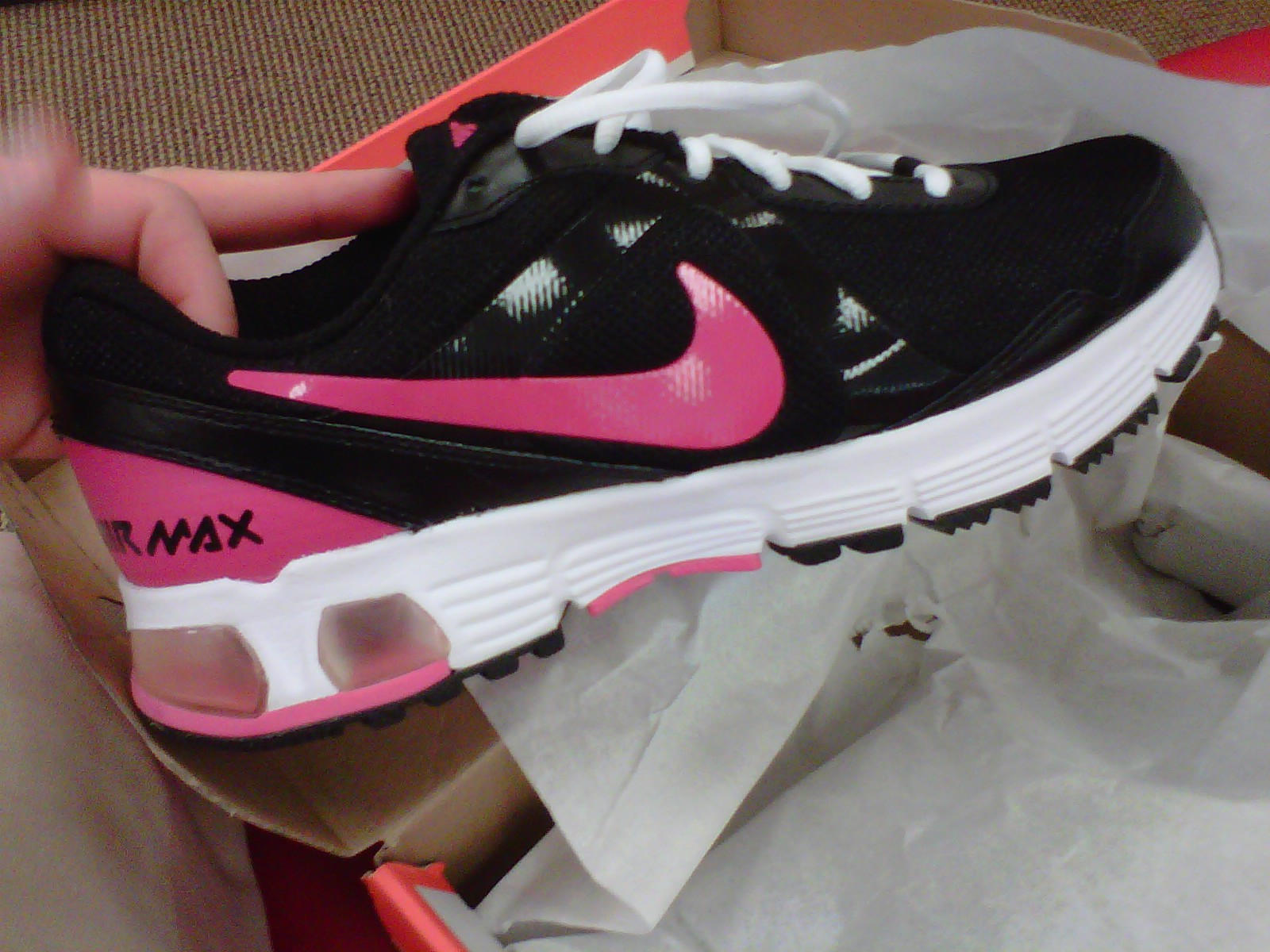 new bought Nike Air Max shoes
