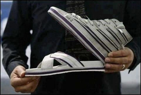 A Transformable Shoe Style
