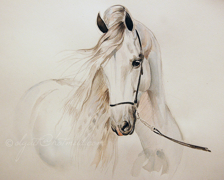 Horse painting | Rate my painting Rating