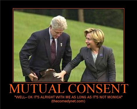 Mutual Consent...