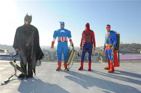 Window Cleaners Costumes